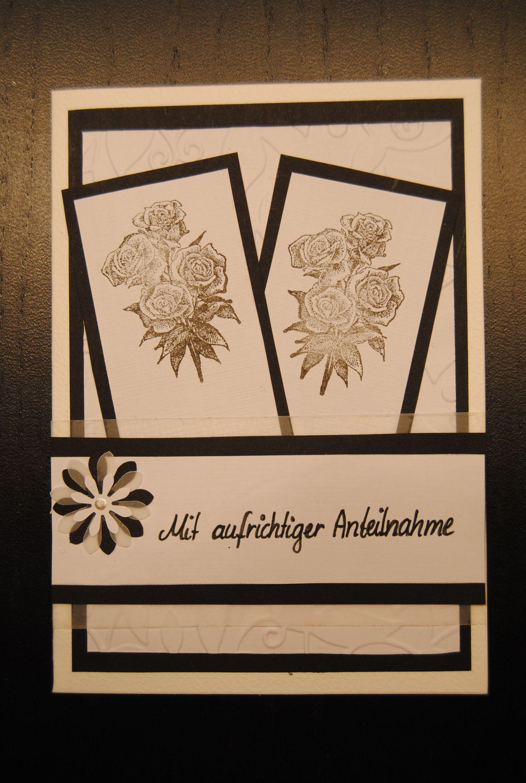 Trauerkarte