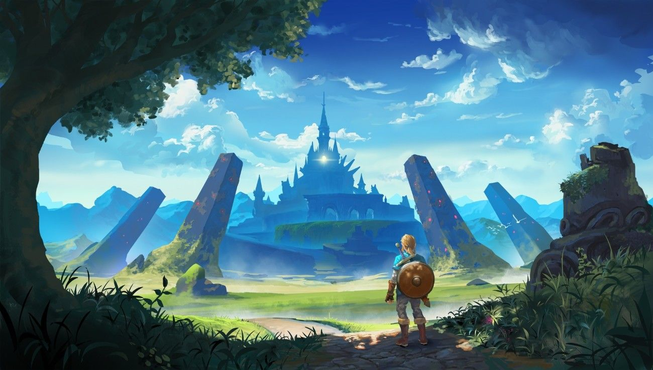 Legend Of Zelda Breath Of The Wild Wallpaper 1920x1080 Windows Legend Of Zelda Legend Of Zelda Breath Zelda Breath