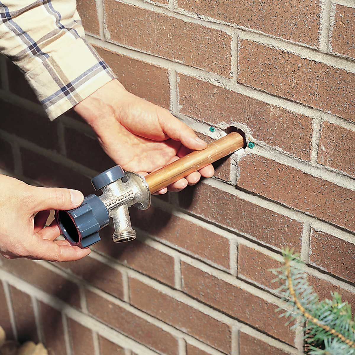 How To Install A Frost Proof Outdoor Faucet Faucet Repair Home