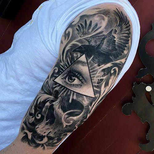 125 Best Half Sleeve Tattoos For Men Cool Designs Ideas 2019 Guide Half Sleeve Tattoos For Guys Mens Shoulder Tattoo Cool Shoulder Tattoos