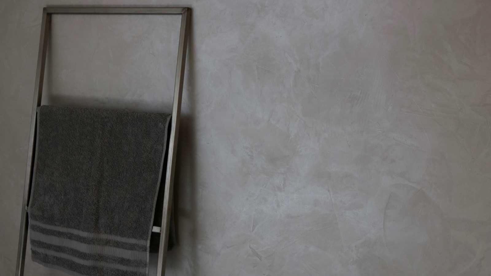 Baddesign Wandgestaltung Dekorputz Bad Design