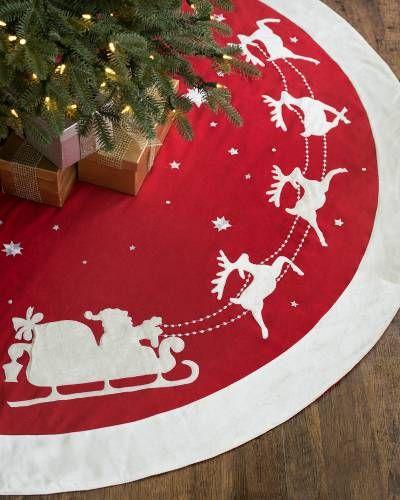 Dashing Through the Snow Tree Skirt Main heirloom christmas