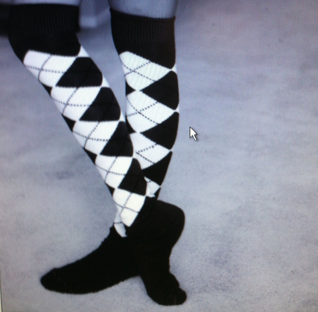 Knicker golf socks for your high boots my style pinterest high