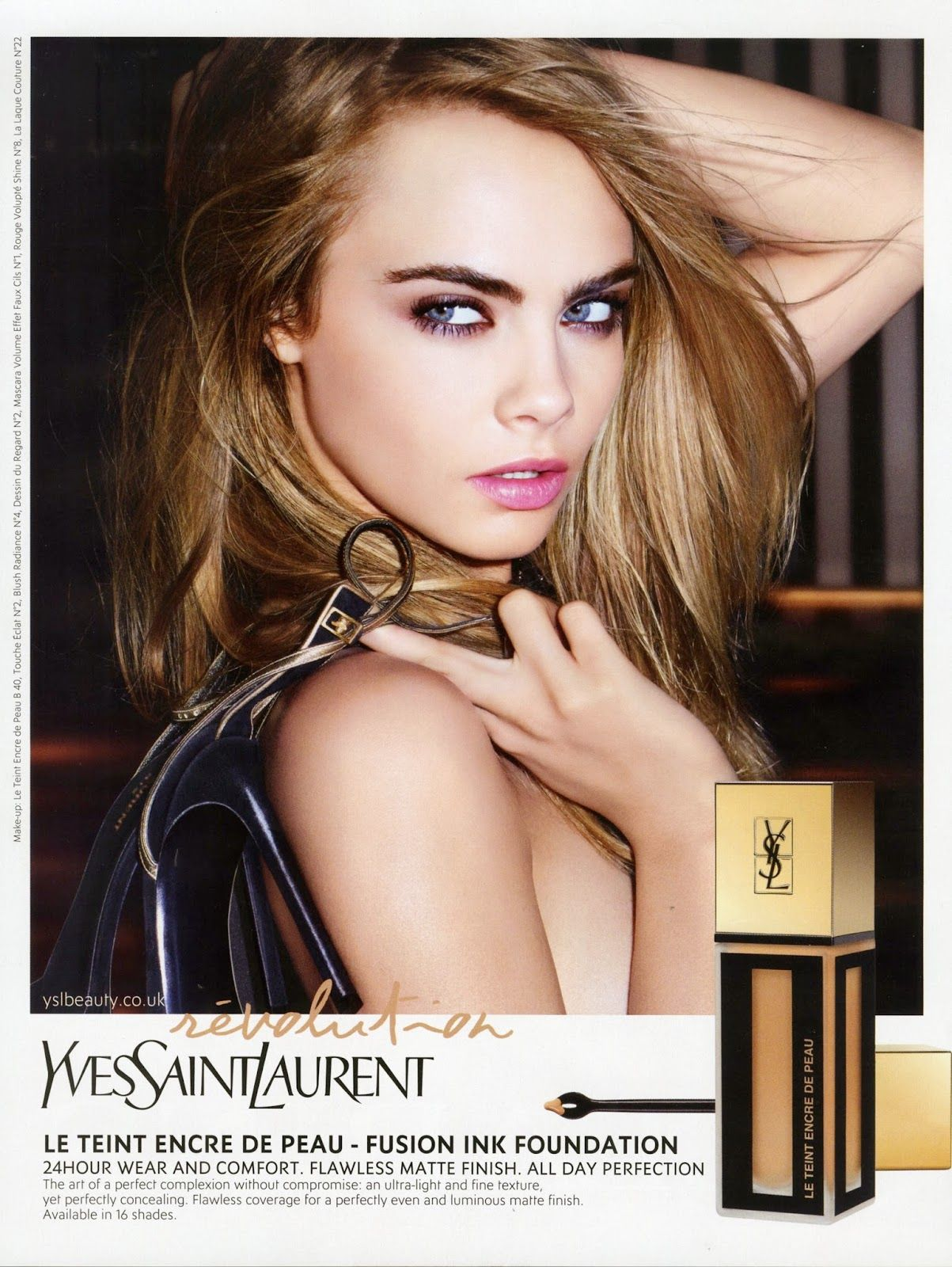 Forum on this topic: Cara Delevingne's New YSL Ad Will Make , cara-delevingnes-new-ysl-ad-will-make/