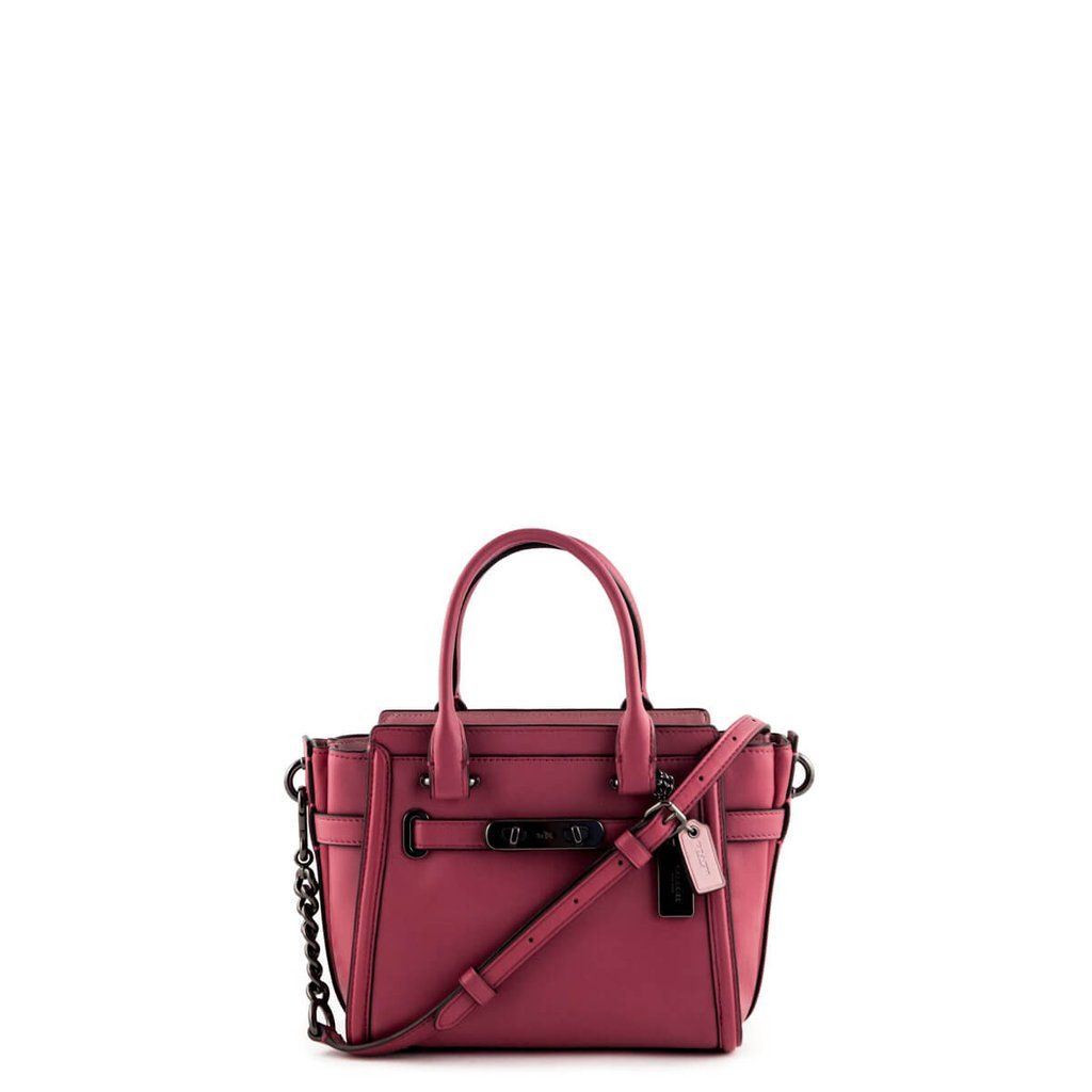 Coach Two-Tone Dusty Rose Swagger 27 Shoulder Bag -  280 CAD   Coach ... 28f13699d3