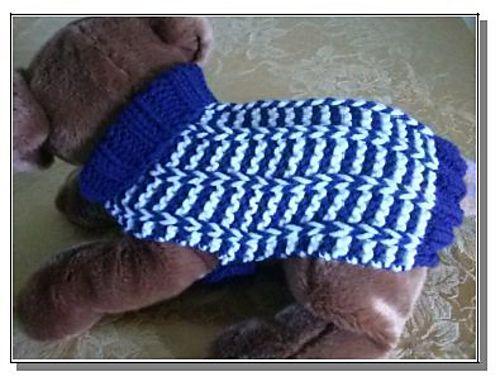 Celtic Doggie Special Rib Dog Sweater Pattern By Debby Decker Dog