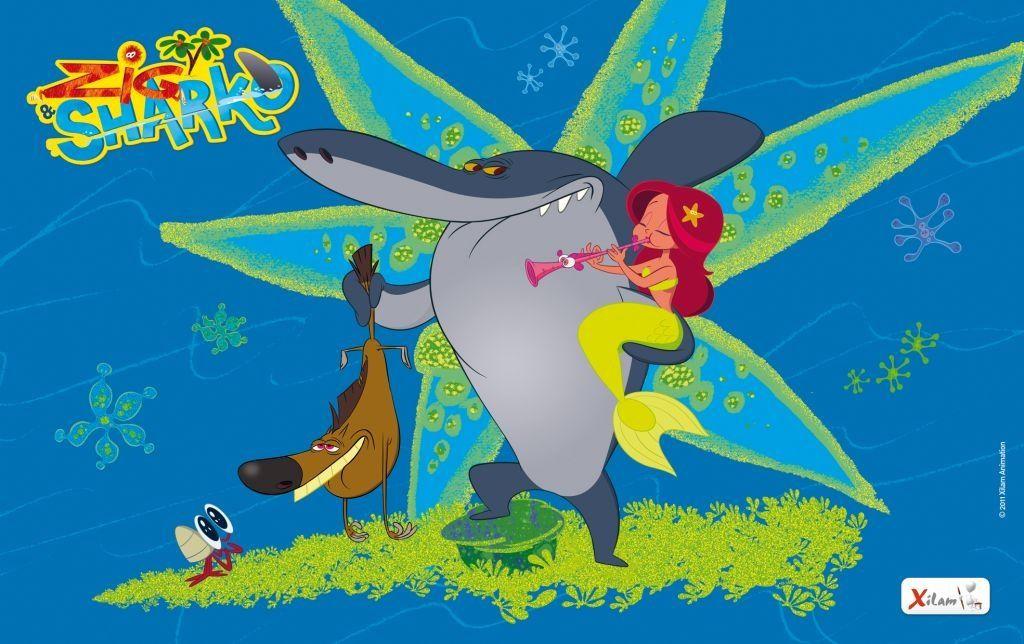 Zig And Sharko Weird Little French Cartoon My Kids Love It