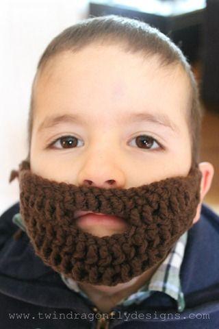 Crochet Beard Pattern | Pinterest | Para las niñas, Gorros y La niña