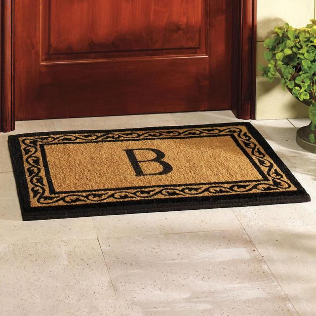 41 Personalized Your Monogrammed Doormat For Indoor And Outdoor Use   ITs  Home Ideas