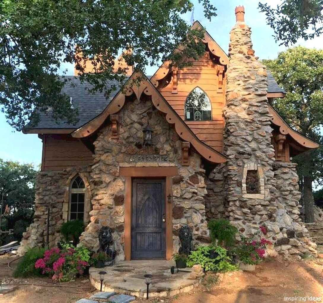 60 Beautiful Small Cottage House Exterior Ideas Cottage House Exterior Small Cottage Homes Stone Cottages