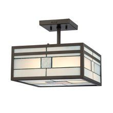View the Quoizel TFFN1712 Transitional 2 Light Small Semi-Flush Mount Ceiling Fixture from the Finley Collection at LightingDirect.com.