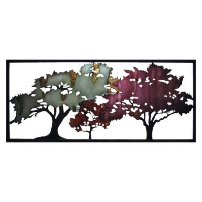 Wall Art Target laser cut tree wall sculpture - multicolor | decor for walls