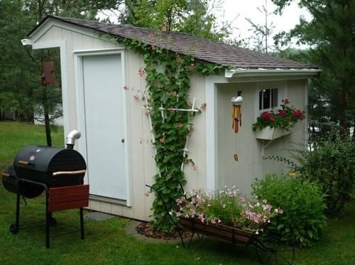 Shed DIY - Small garden sheds look pretty providing great storage ...