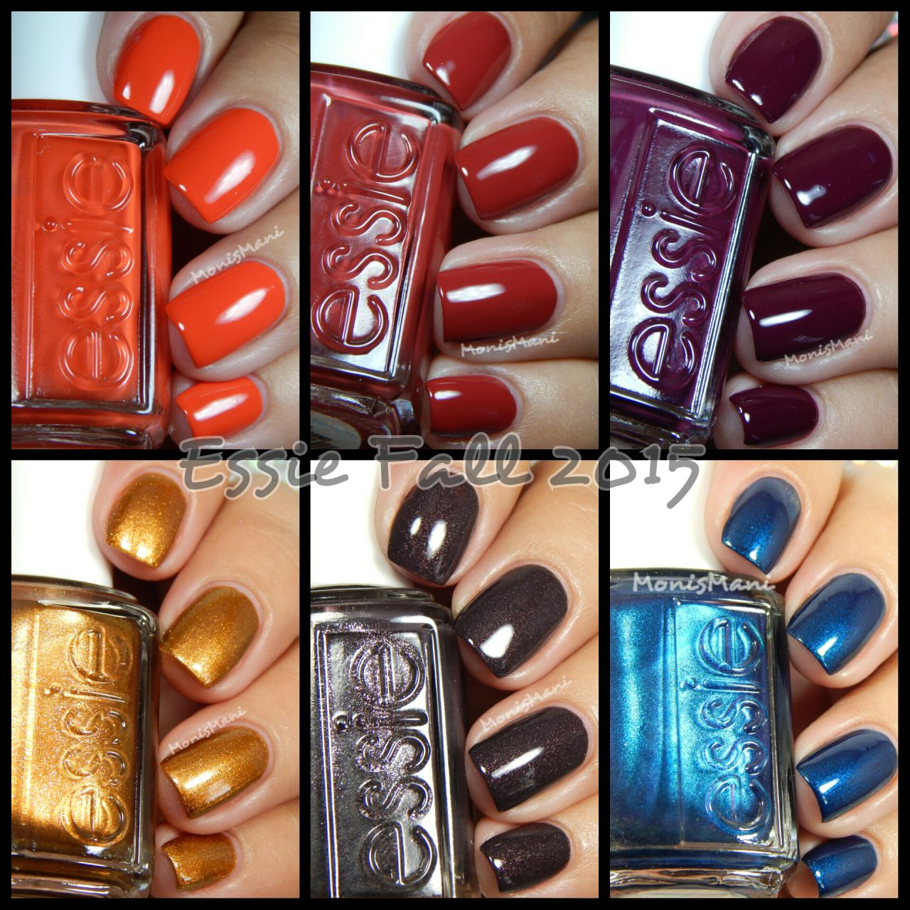 Essie Fall 2015 Collection | Fall 2015, Makeup and Hair makeup