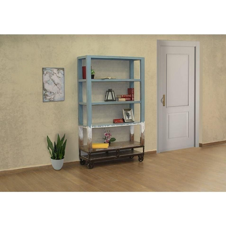 Photo of 70″ Bookcase Blue