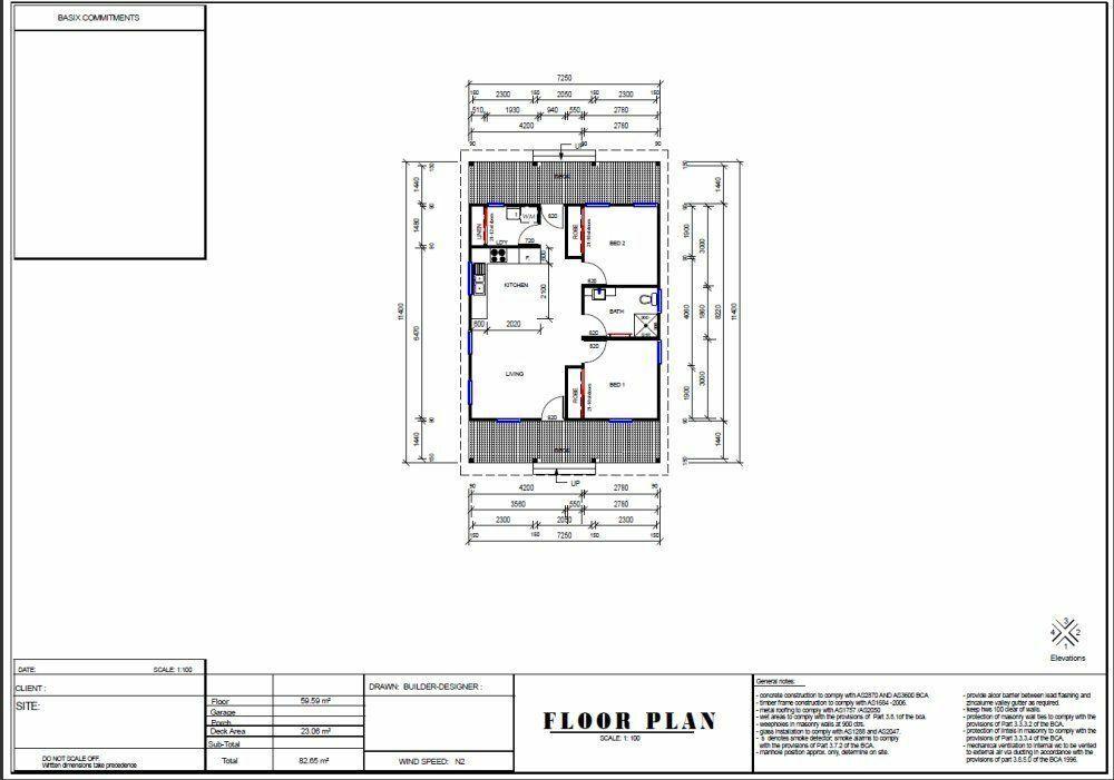 59 M2 Cottage Style House Plan For Sale Granny Flat Design 2 Bed Deck Kit Ebay House Plans For Sale Cottage Style House Plans Small Cottage House Plans