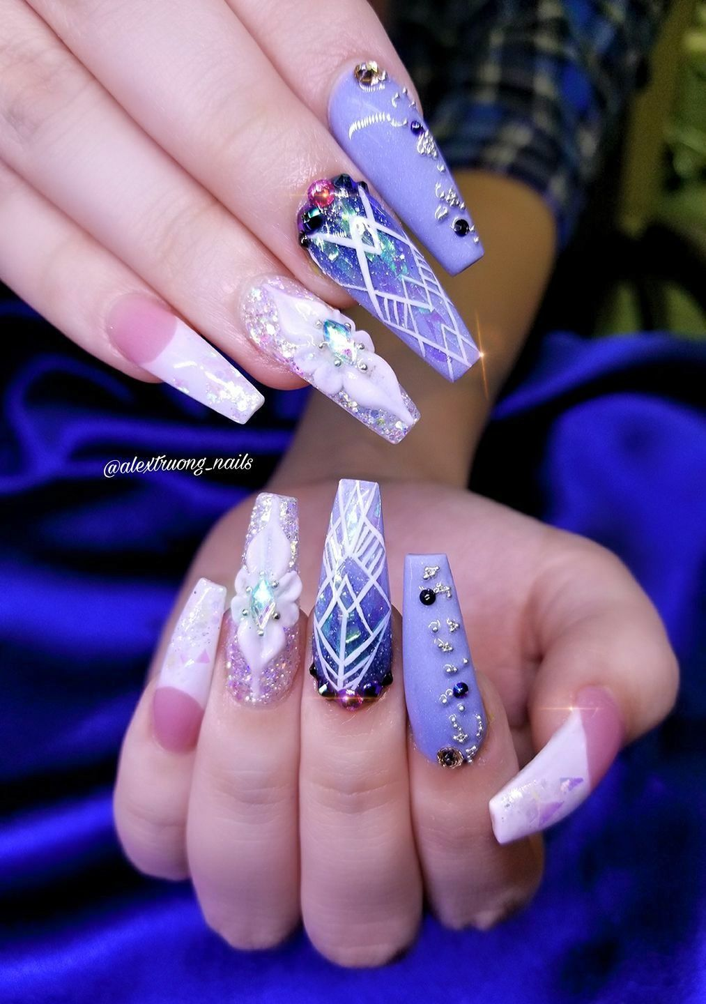 Pin by 💎KIANIA💎 on CLAW COUTURE | Pinterest | Nail nail, Designer ...