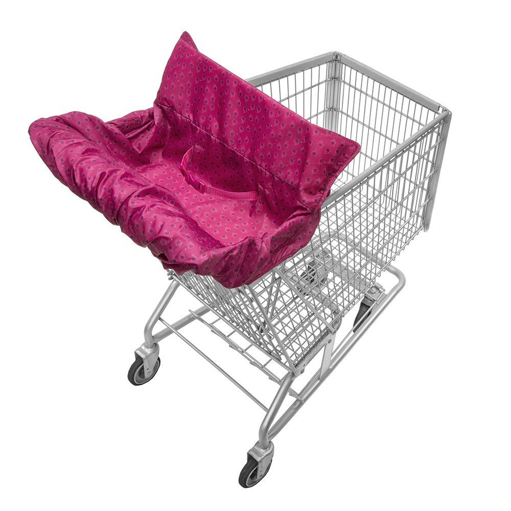 Grocery Cart Cover For Baby Shopping Portable Infant Cushy Seat Toddler Safety