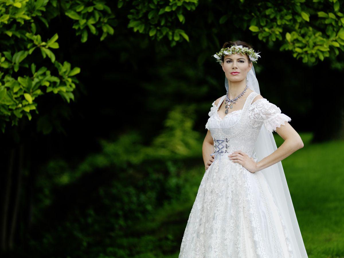 Charmant Cornflowerblau Brautkleid Zeitgenössisch - Brautkleider ...