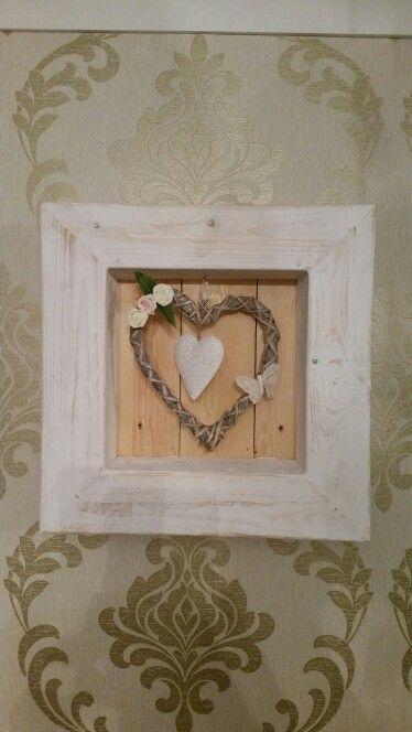 Pallet box frame