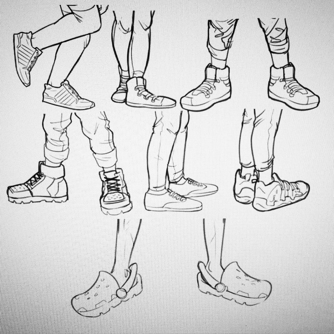 Today S Shoes Drawing Reference Poses Drawings Drawing Reference