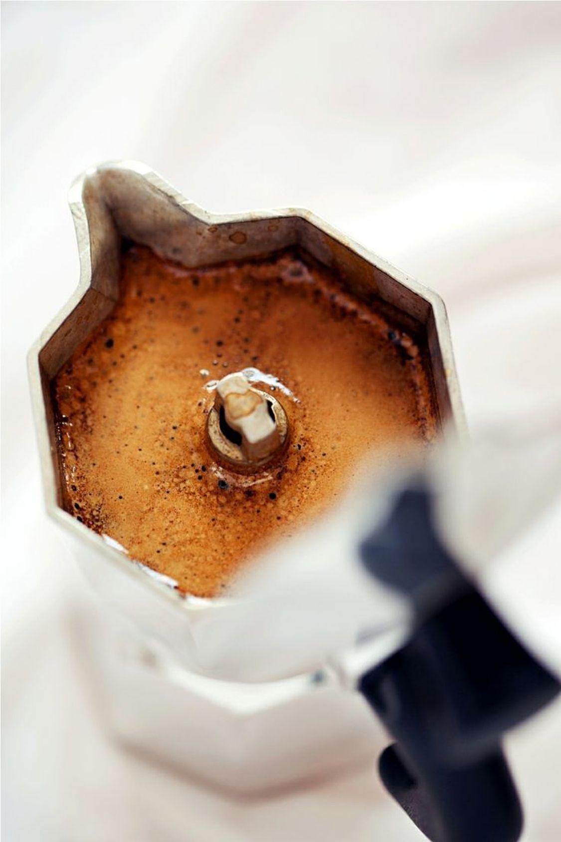 Métodos de extração Moka Fotografia café, Café ou chá e