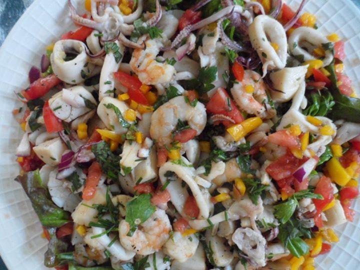 Laurilees healthy cooking sea food salad recipes