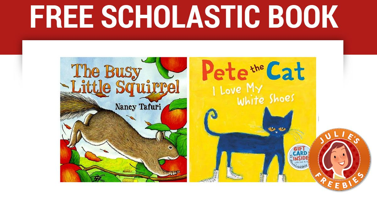 Free Scholastic Book Free stuff by mail, Books