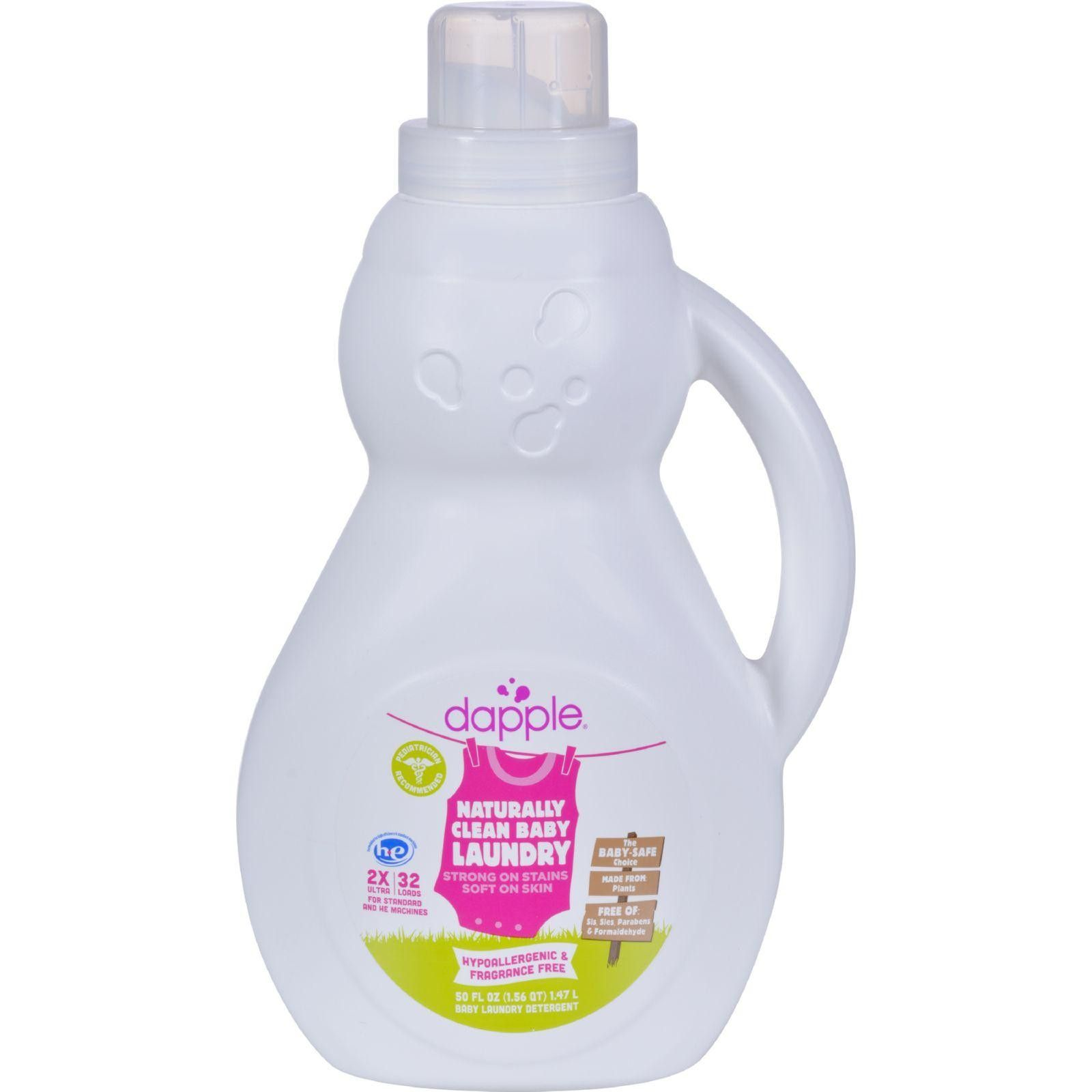 Dapple Fragrance Free Baby Laundry Detergent Is Made With Ultra Mild Ingredients And Perfect For Newborns Baby Laundry Detergent Baby Laundry Laundry Detergent