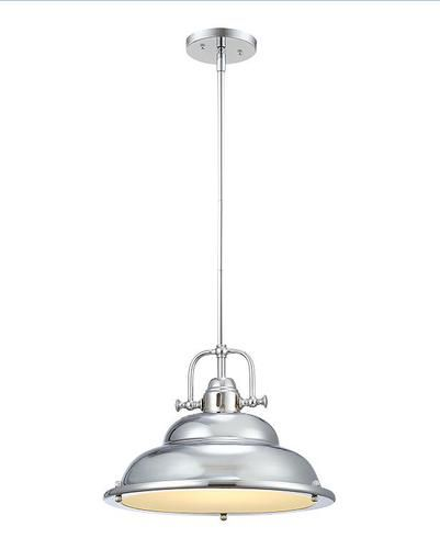 Dsi soho 1 light 605 chrome pendant 34 each menards kitchen dsi soho 1 light 605 chrome pendant 34 each menards kitchen peninsula pendants mozeypictures Choice Image