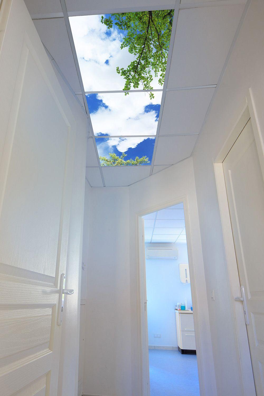 eclairage led dalle plafond. Black Bedroom Furniture Sets. Home Design Ideas