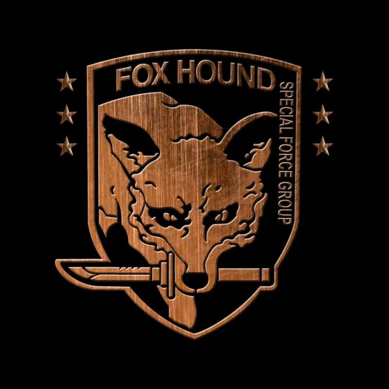 Foxhound Special Forces Group Metal Gear Solid Men S T Shirt By Bevatron Cloud City 7