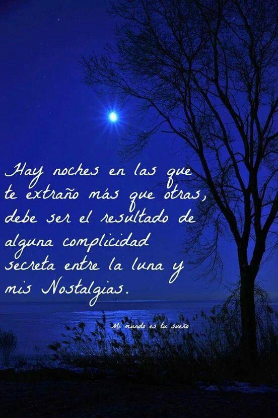 Besos Atraves De La Luna Llena Y Resplandeciente Frases Luna
