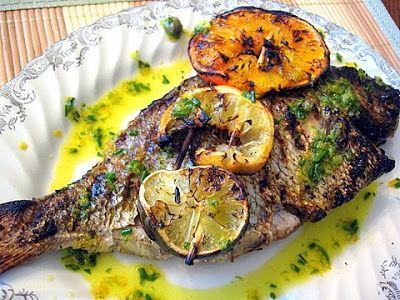Porgy kalofagas greek food beyond eats fish of for Porgy fish recipe