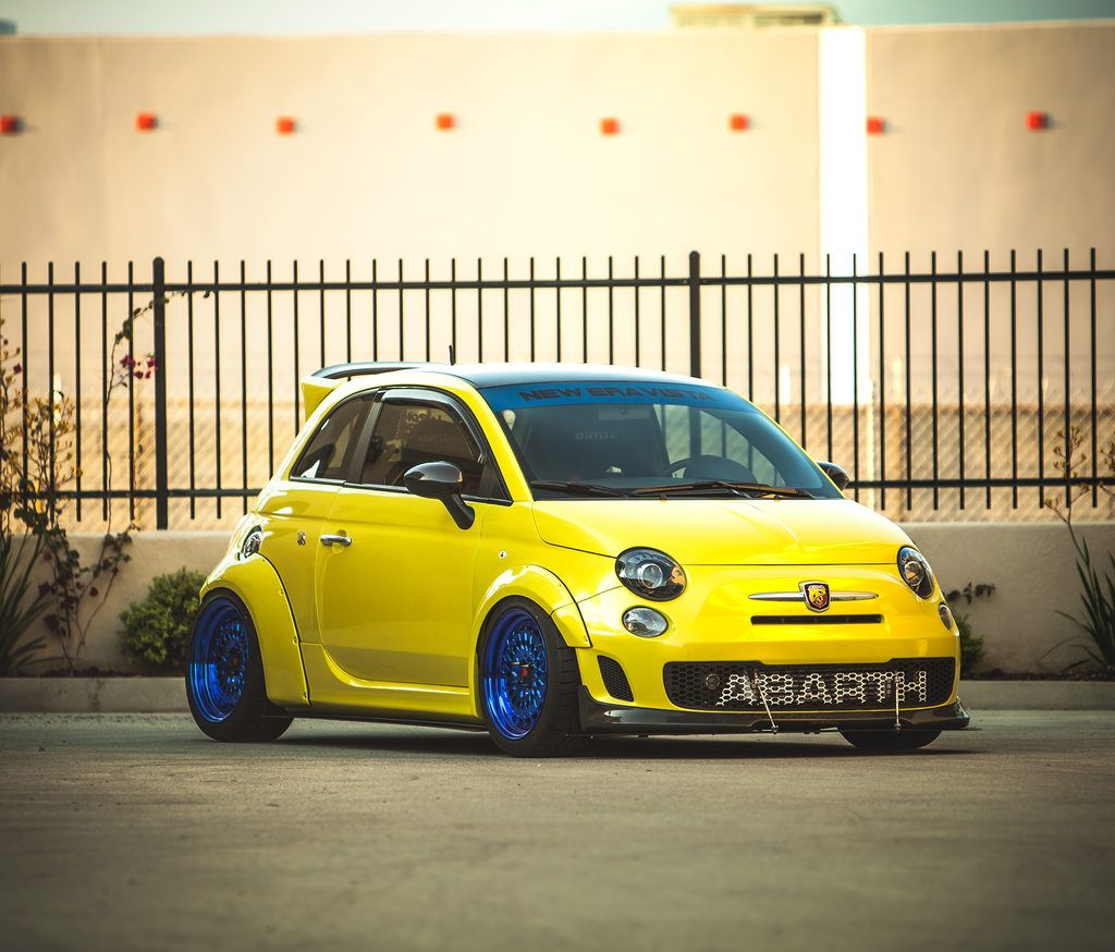 2012 Wide Body Highly Modified Fiat 500 Abarth Stanceworks