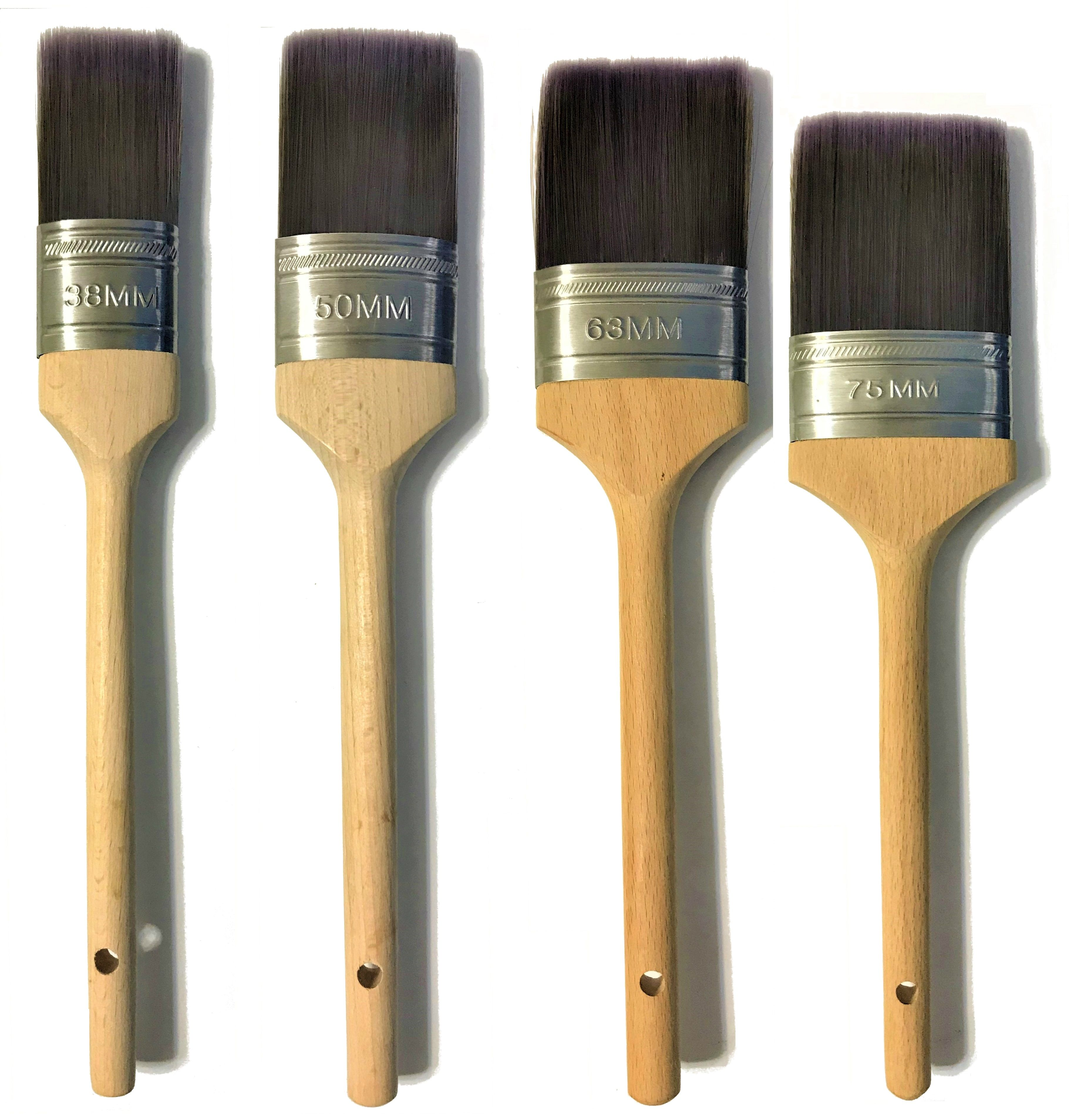 Oval Paint Brush Exterior Paint Water Based Paint Brush Set