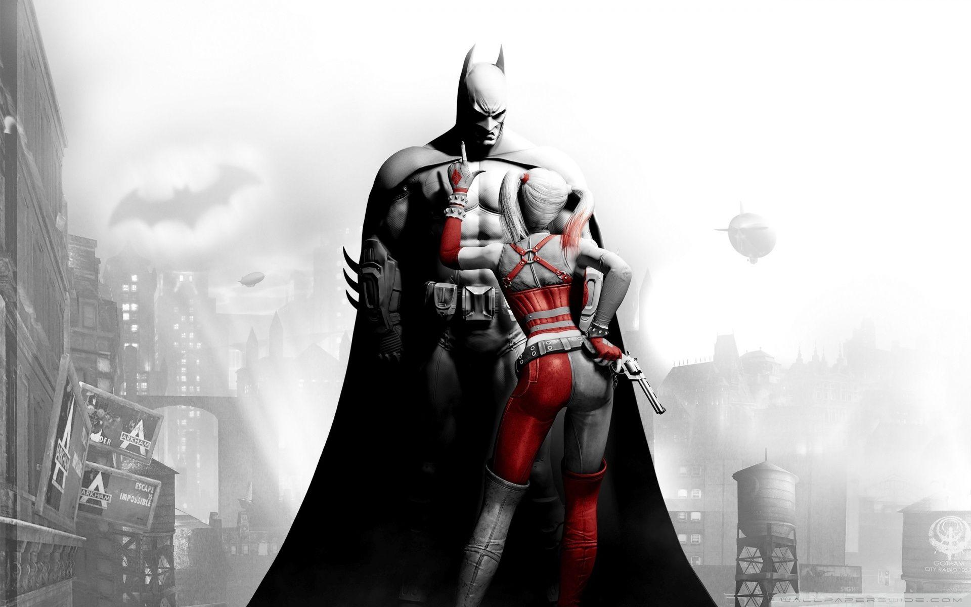 Секс в игре batman arkham city