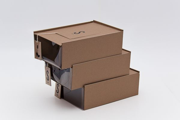 SKINS Shoe Package Design (Concept) on Packaging of the World