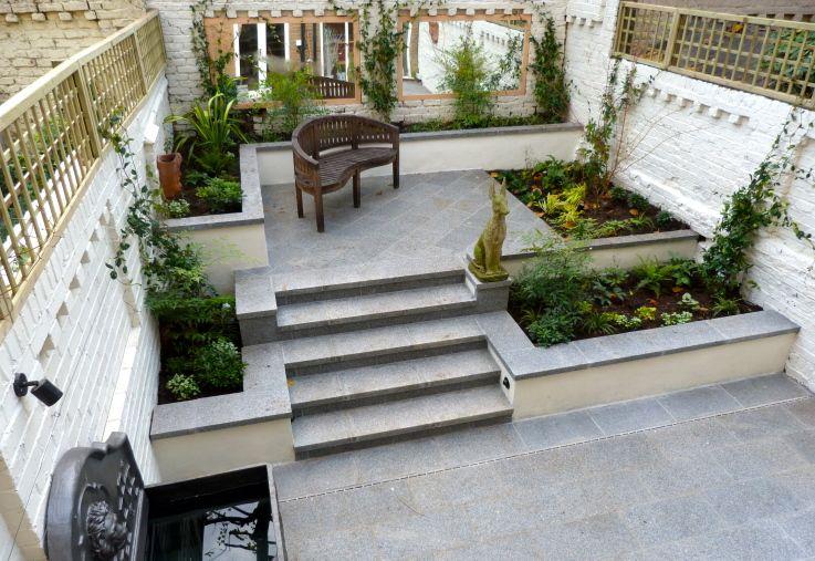 Kensington Basement Garden | Garden steps, North facing ...