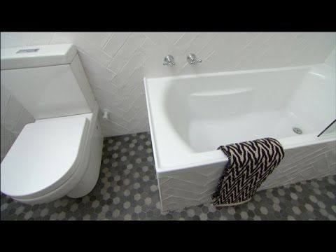 Small Bathroom Renovation Youtube tara's small bathroom makeover - https://www.youtube/watch?v