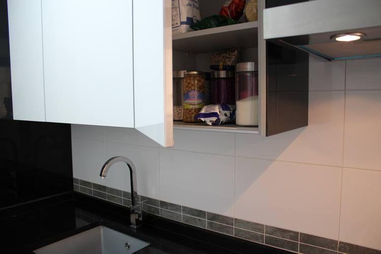 diseño de #cocinas Diseño de cocinas en Pinto modelo Rey blanco