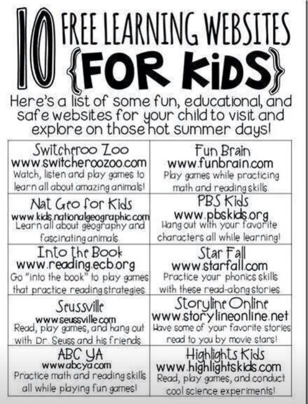 10 Free Learning Sites For Kids Smart Boys Learn Stuff