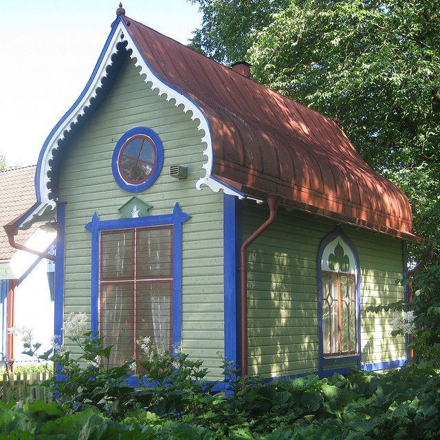 Best Small House With Blind Window Unusual Homes Cottage 640 x 480