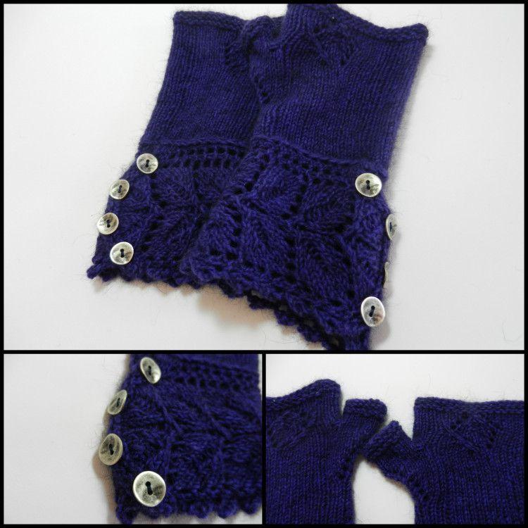 FO: Veyla Mitts | Knitting, Pattern, Textiles
