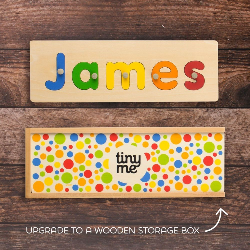 name puzzle wooden name