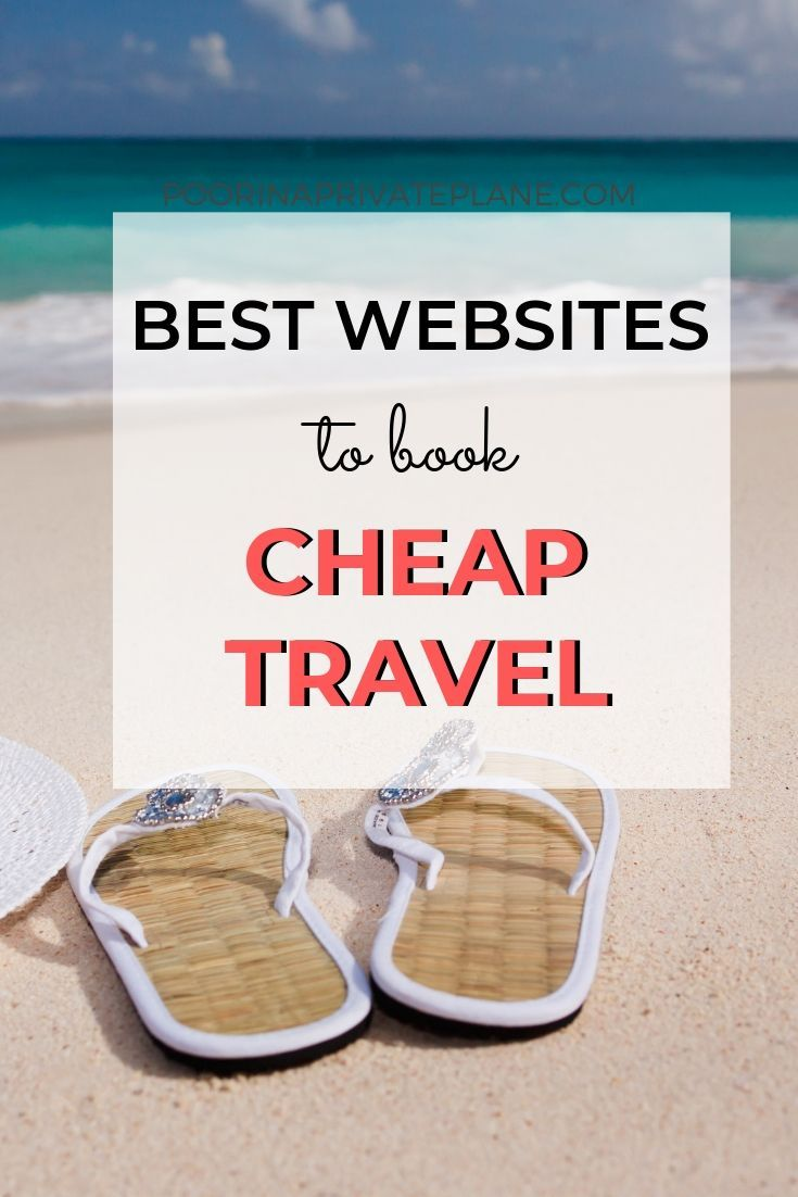 The best websites to save money and book your travel on the cheap. Everything from where to find the best deals on hotels, cheap airfares and even last minute getaways.  Before you book your next vacation make sure to take a look at this list. It will save you a lot of money and keep you on budget.
