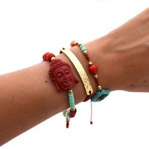 06f7931c7145 Pulsera India Roja. Compra tus accesorios desde la comodidad de tu casa u…  Accesorios