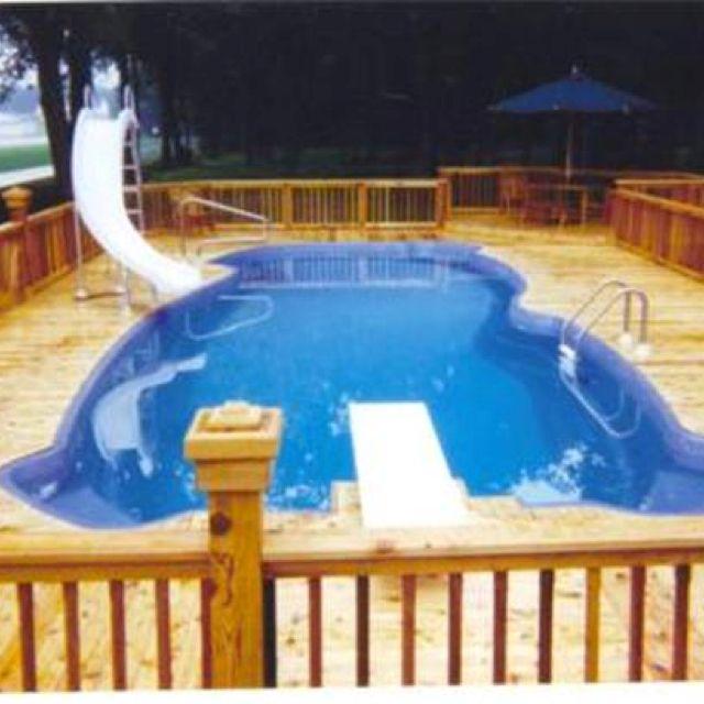 Pool Deck Plans, Above Ground Pool