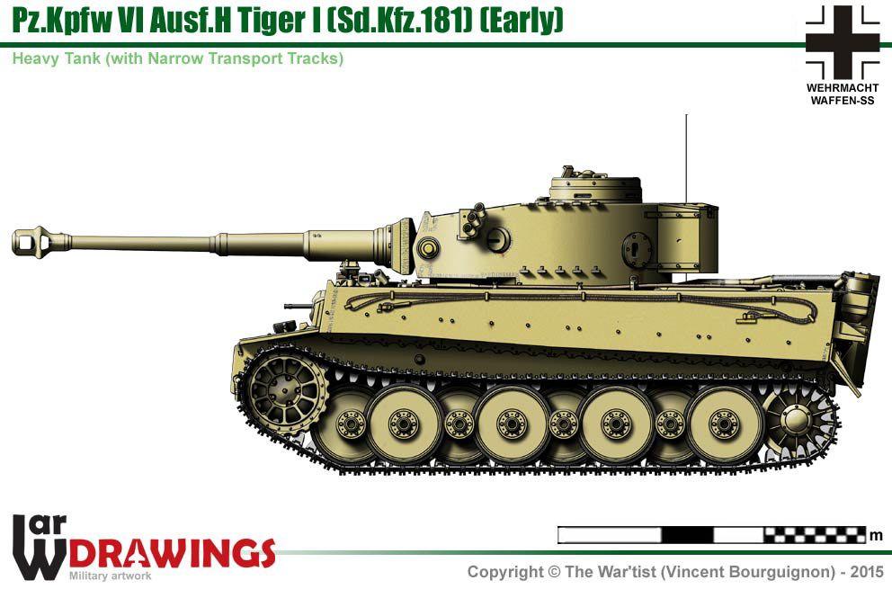 Pz.Kpfw VI Ausf.E Tiger I (early production model)