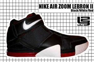 56c77b98e6f 2004-05 Air Zoom Lebron II Black